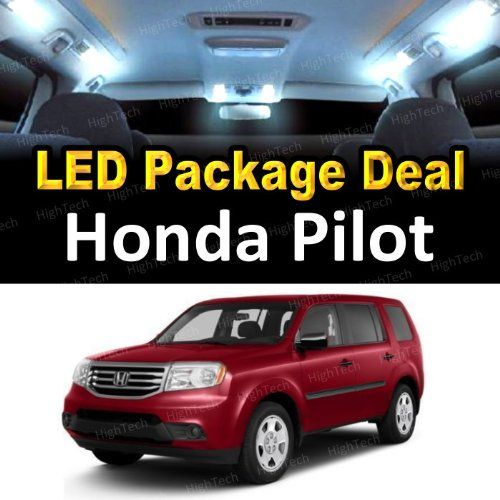 SAVE $5 - LED #Interior Package Super Bright White Light Bulbs for 2006 - 2008 Honda Pilot ( 10 Pieces ) $24.98