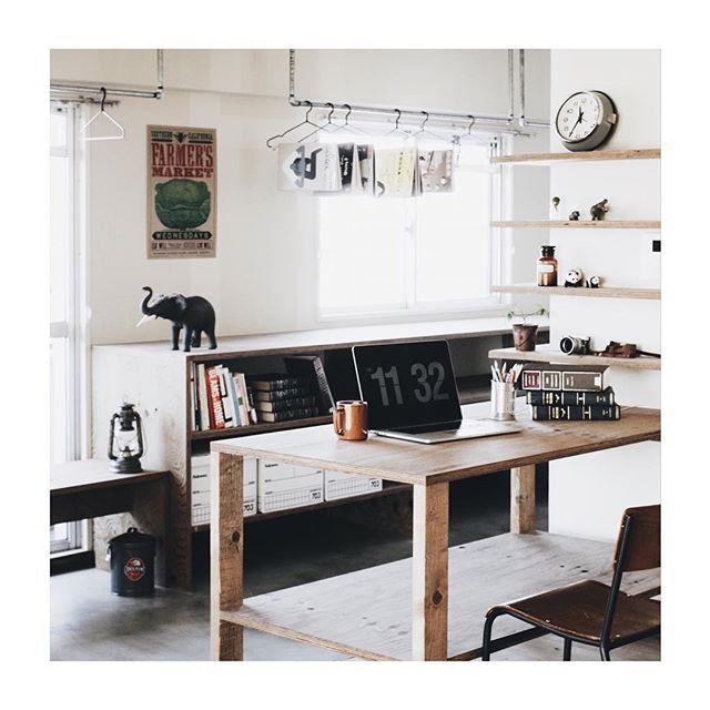 WEBSTA @ eightdesign - 事務所利用OKの塩釜口のリノベーション賃貸。オープンな収納や土間を活かして、SOHOやアトリエ兼住居としての利用もオススメ。ただいま入居者募集中です。2月4日(土)5日(日)には内覧会を開催します!http://eightdesign.jp/chintai/works/w20/#eightdesign #エイトデザイン #リノベーション #リノベーション賃貸 #賃貸オフィス #ワークスペース #インテリア #土間 #塩釜口 #fellowes #バンカーズボックス #MacBookpro #ガス管 #SOHO