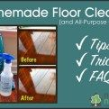 Non-Toxic Homemade Floor Cleaner - Question & Answer