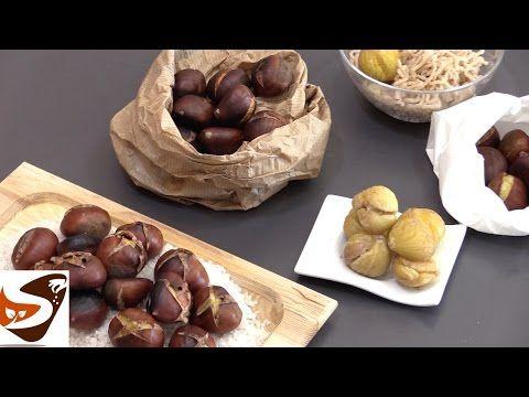 3 MODI PER CUOCERE LE CASTAGNE - How to Cook Chestnuts - YouTube