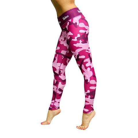 Tikiboo Pink Camo Leggings £33.99