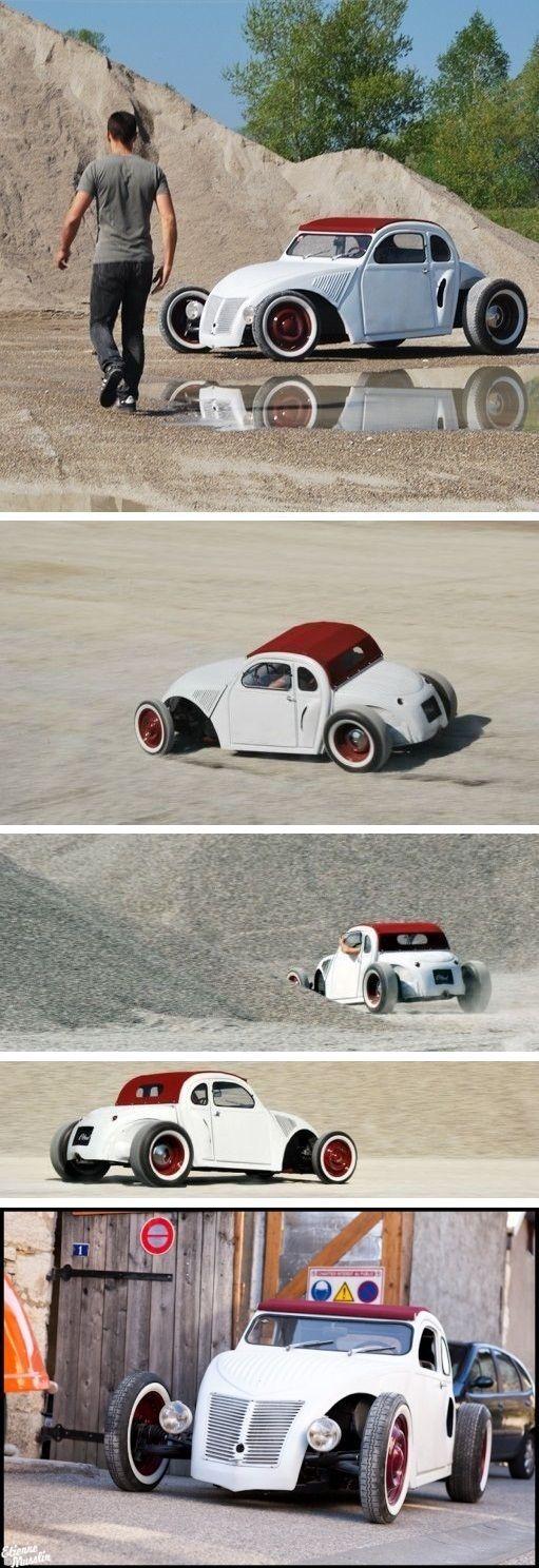 Citroën 2CV heißt & # 39; Citrod & # 39; – Blog Spirit Design – # 2CV #Blog #Citrod # CITROËN # …   – bla