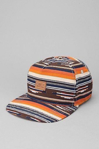 Obey San Juan Snapback Hat Caps Gorras
