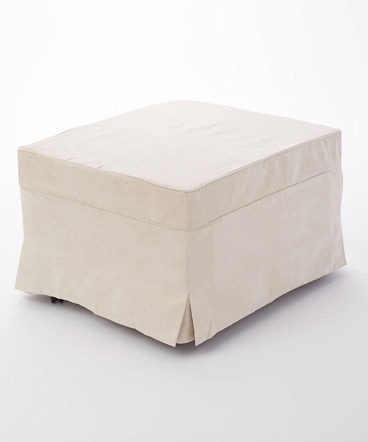 Look at this Linen Ottoman Cover on #zulily today!