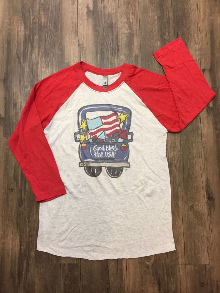 Southern Roots USA Truck Raglan