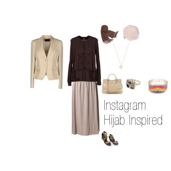 """""""Instagram Hijab Inspired"""" by fabsmusician on Polyvore"""