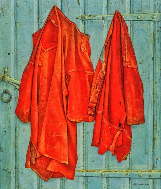 Orange coats - Jopie Huisman