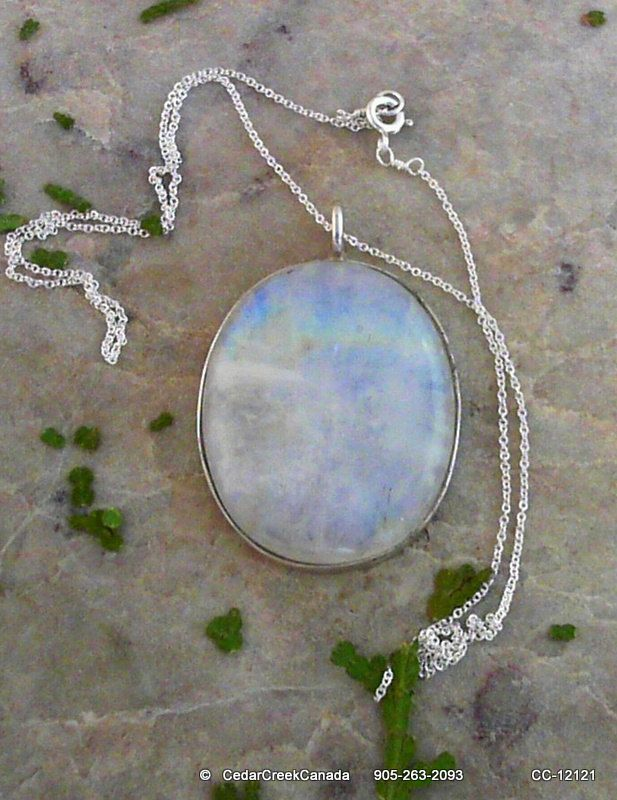 massive moonstone necklace - absolutely gorgeous