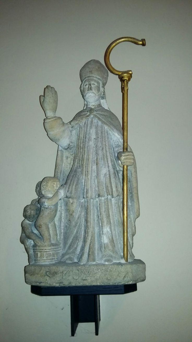 Sint Nicolaaskerk (H.H. Nicolaas en Barbara,  Valkenburg) Sint Nicolaasbeeld ca. 1647