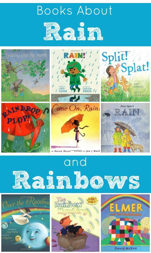 Books About Rain and Rainbows