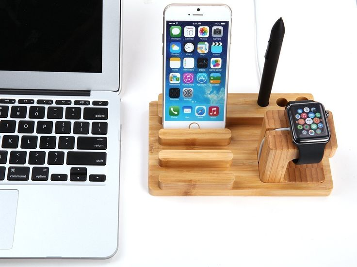 TuoP@ Apple Watch Series 2 1 Stand, Multi Nightstand Mode Dock Bamboo Wood Charging Station Charger Cradle for Apple watch iwatch 2/1 iPhone 5 5s 6 Plus 6s SE 7 7 Plus iPad Mini 2016 Released -- Click image to review more details. (This is an affiliate link and I receive a commission for the sales)