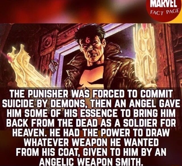 Angelic Punisher  - Marvel FACT !!! °°