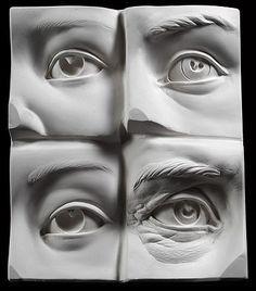 Oeil humain Sculpting modèle de référence