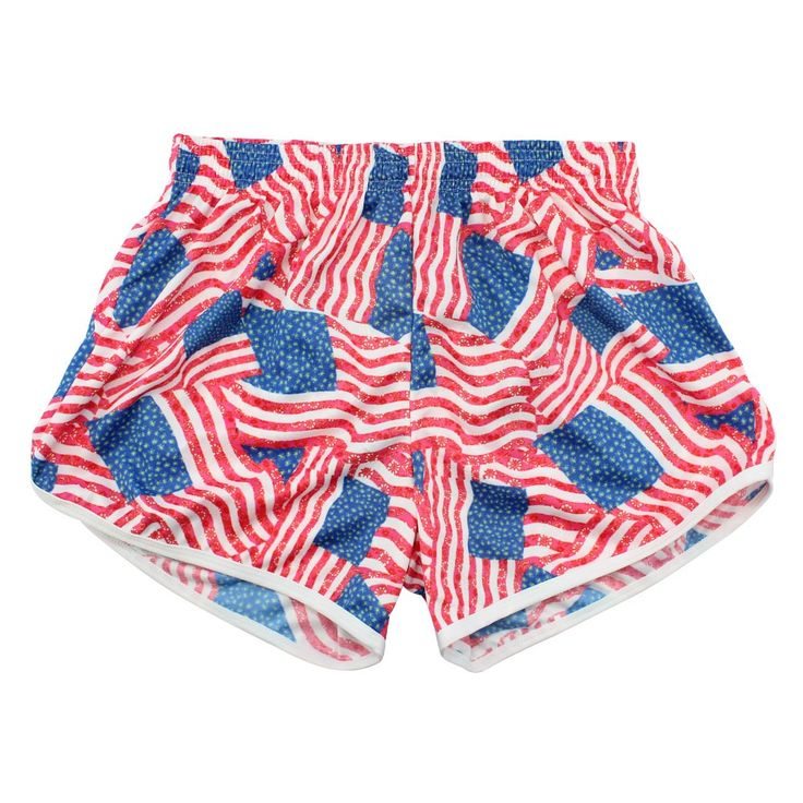#LacrosseUnlimited Patriotic Pride Womens Lacrosse Shorts