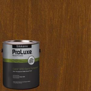 Sikkens ProLuxe 1-gal. #HDGSRD-ST-201 Chestnut Brown Cetol SRD Semi-Transparent Exterior Wood Finish HDGSRD-ST500-201-01 at The Home Depot - Mobile