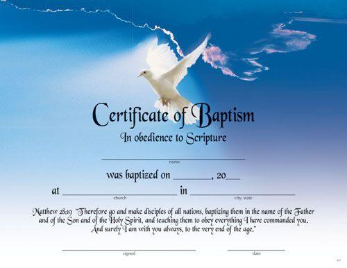 Printable Fillable Certificate of Baptism | Printable Baptism ...