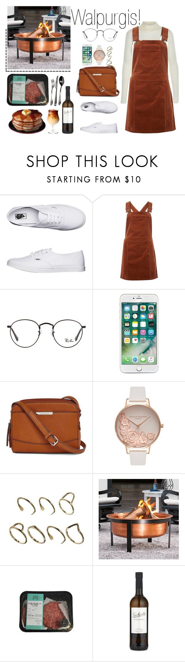 """""""Today's Walpurgis/ barbecue outfit!"""" by elisehart ❤ liked on Polyvore featuring Vans, Dorothy Perkins, Ray-Ban, Liz Claiborne, Olivia Burton, ASOS, Grandin Road and Alessi"""