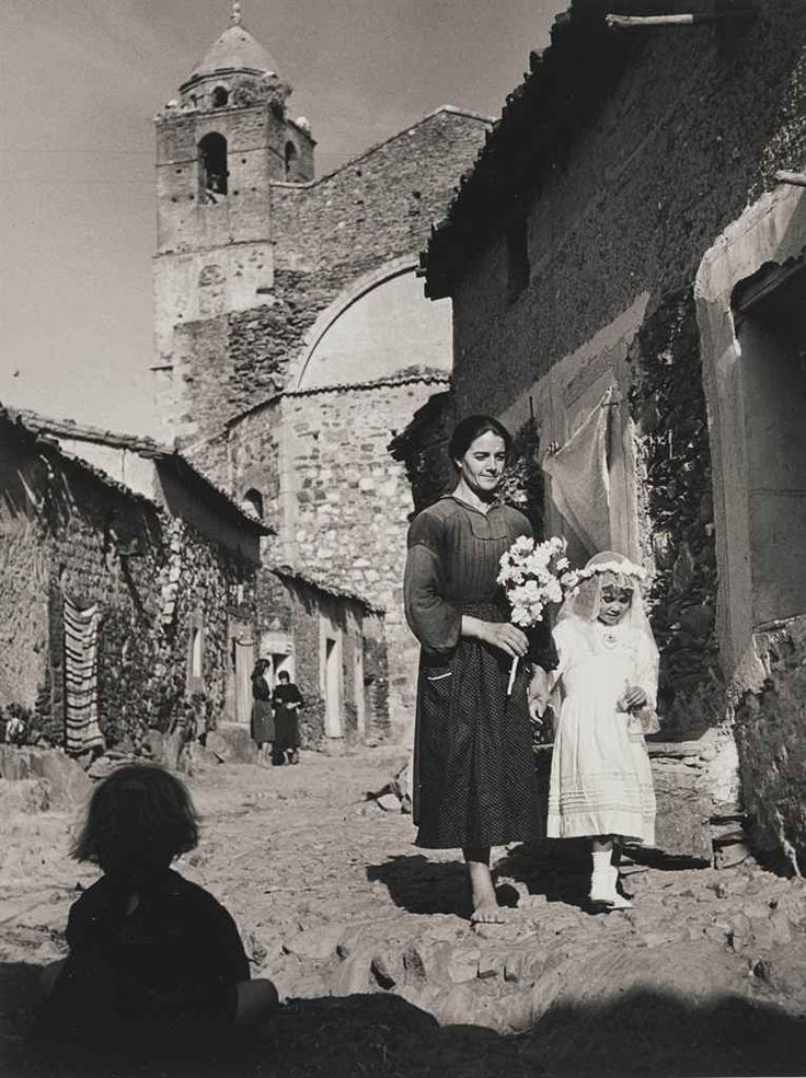"First Communion, from ""Spanish Village"", 1950s by W. Eugene Smith"