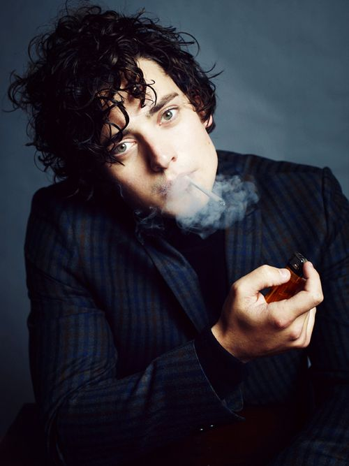 Aneurin Barnard Hate smoking but some people I can just forgive..