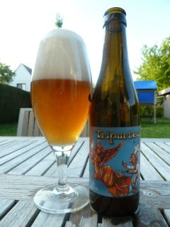 Triporteur from heaven – B.O.M. Brewery, Bree Belgium, 6.2% 6/10, somewhat fruity floral tasting. Brewed with home baked malt.
