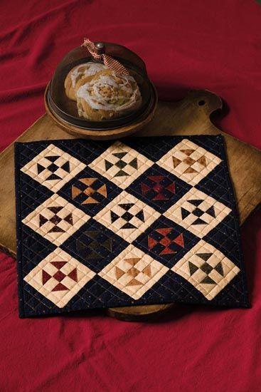 miniature quilts | Lisa Bongean's Weblog