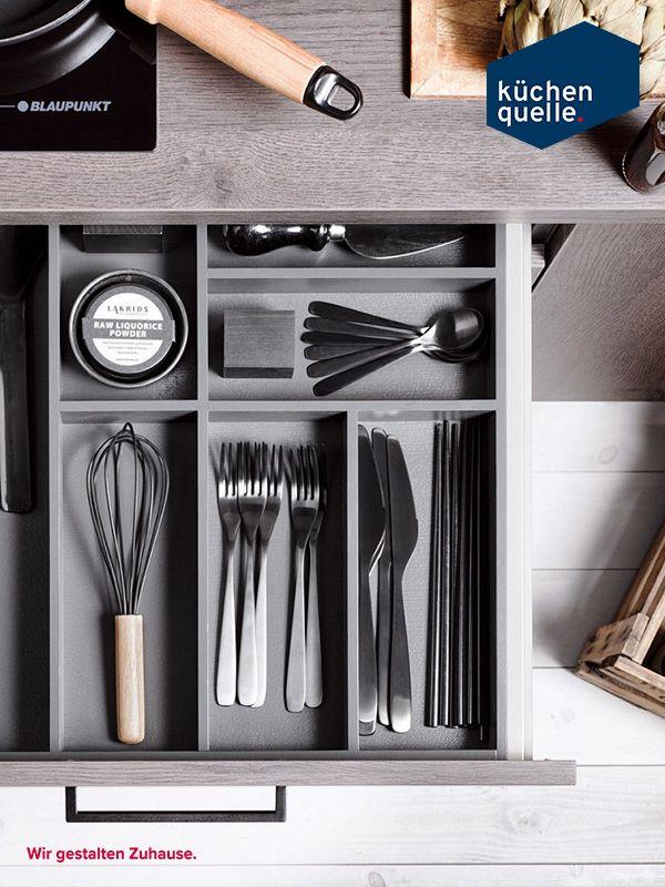 Hier ist alles an seinem Platz In der funktionalen Innenausstattung - www küchen quelle de