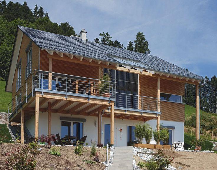 Bildergebnis Für Haus Am Hang Satteldach Haus Haus