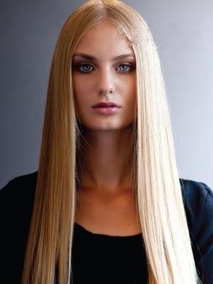 Perruque lace front lisse cheveux naturels charmante - Photo 1