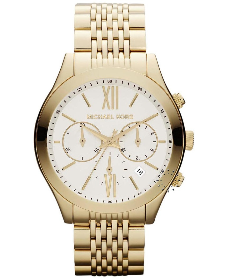 MICHAEL KORS Brookton Chronograph Gold Stainless Steel Μοντέλο: MK5762 Τιμή: 319€ http://www.oroloi.gr/product_info.php?products_id=32644