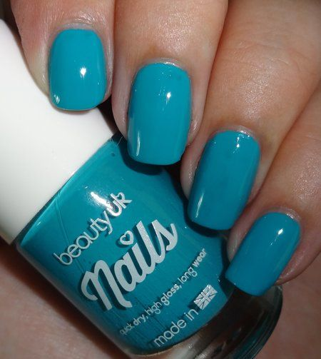 Beauty UK Tealed With A Kiss - #beautyuk #tealedwithakiss #nails #nailpolish #nailswatch #wendydelights - Love beauty? Go to bellashoot.com for beauty inspiration!