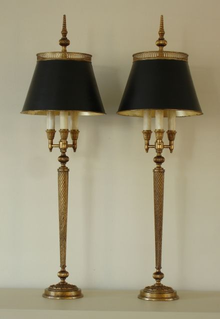Bouillotte Table Lamp Limoges Empel Collections Materials Used