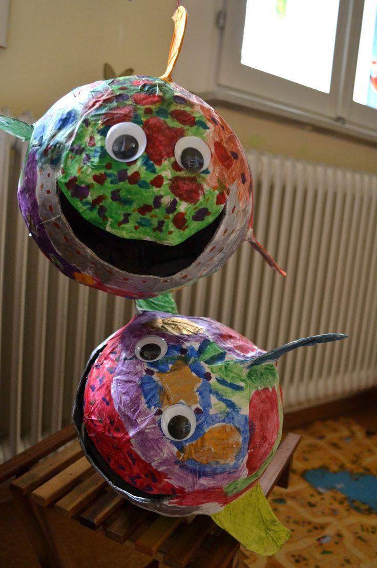 gemachtes und gedachtes: Selbstgemachte Kugelfische, Luftballontiere