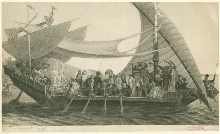 Picou, Henri Pierre -Mark Antony and Cleopatra aboard an Egyptian barge - 1891 - Henri-Pierre Picou - Wikipedia, the free encyclopedia