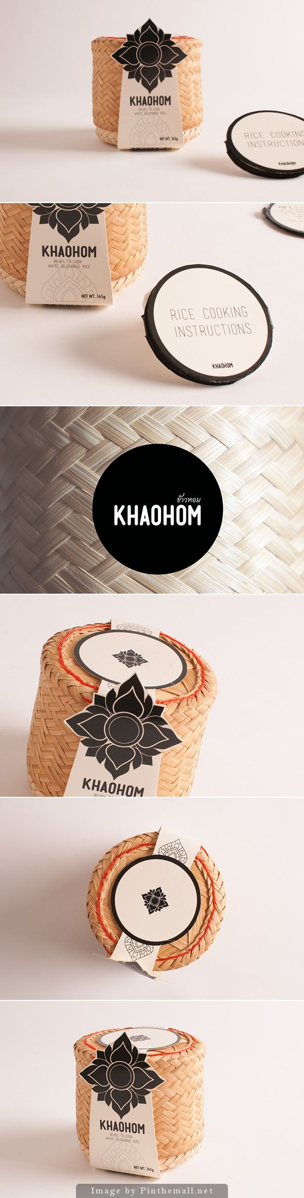 Khaohom: Sustainable Rice Packaging http://www.packagingoftheworld.com/2014/08/khaohom-sustainable-rice-packaging.html