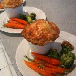 - English Lamb Pie with Flaky Pastry