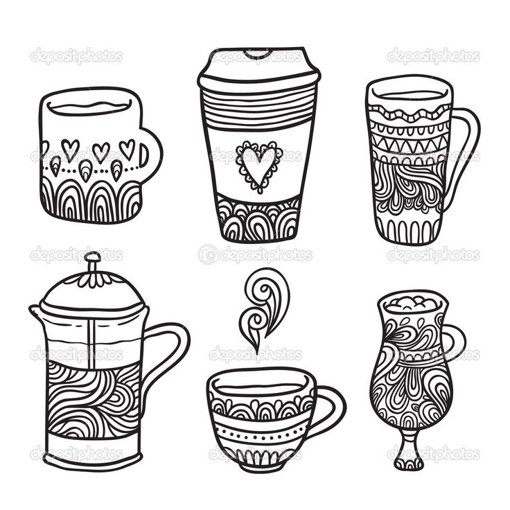 Coffee Coloring Page PagesAdult ColoringColoring BooksPhoto