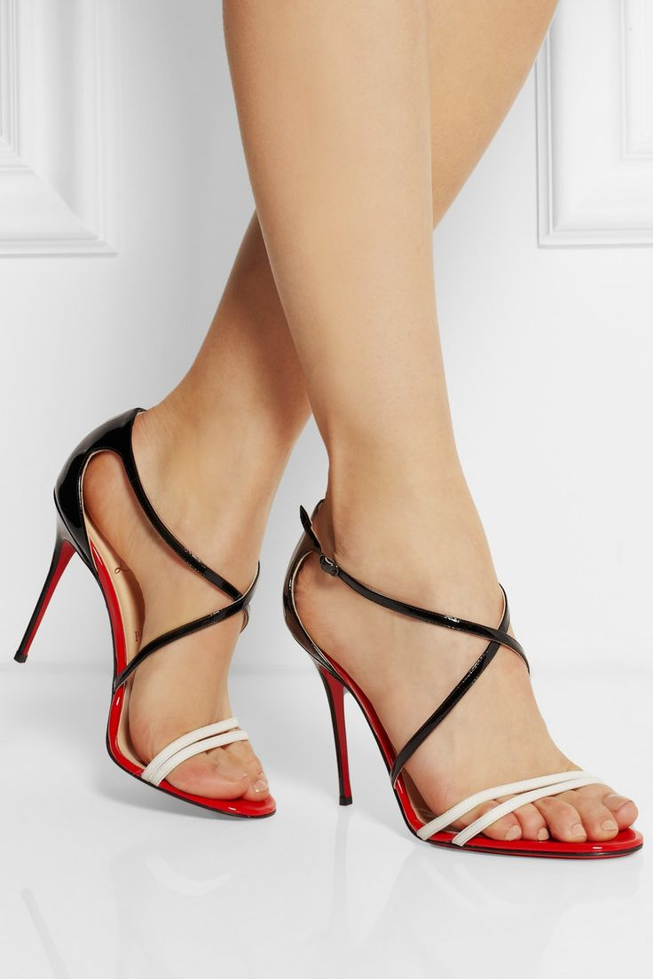 Christian Louboutin'Gwynitta' Patent Sandals  €545 Pre-Spring 2013 #CL #Louboutins #Shoes