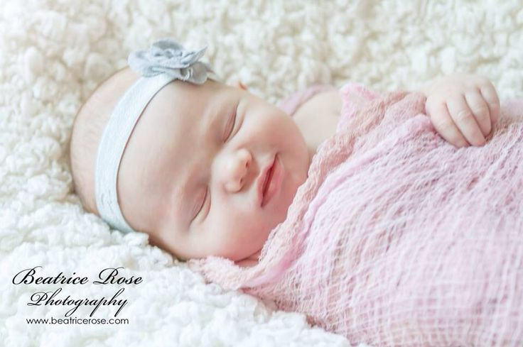 Smiling baby .. Natural light newborn Photography