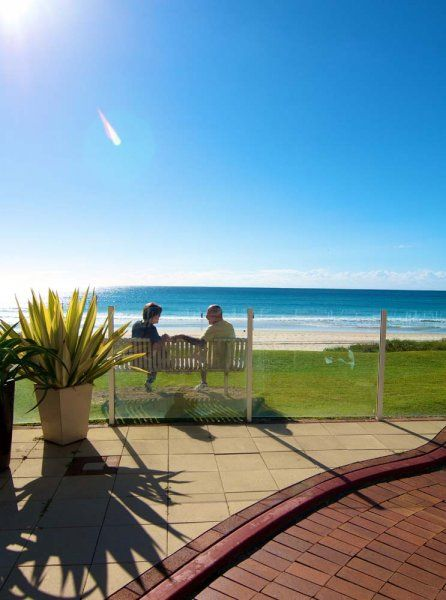Crystal Beach - The Beach - Southern Gold Coast Apartment Accommodation