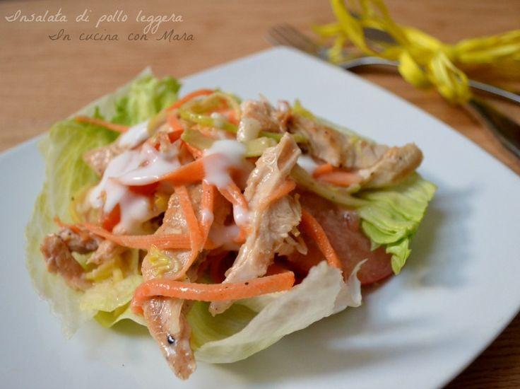 insalata di pollo leggera