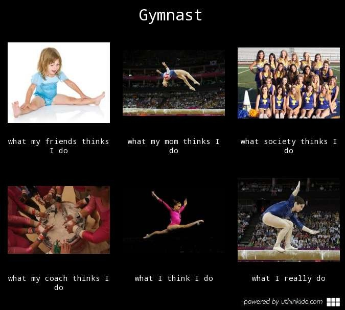 Short Gymnastics Quotes And Sayings: 17 Best Images About If Gymnastics Were Easy It Would Be