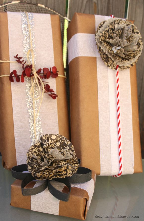Popular 239 best Brown Paper Gift Wrapping images on Pinterest | Wrapping  RQ24