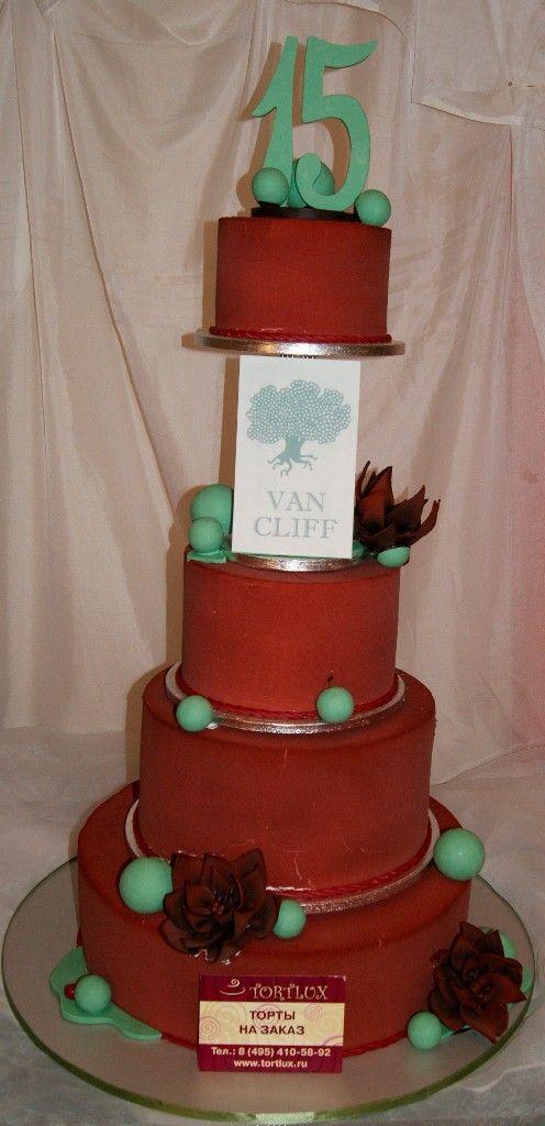 Корпоративный торт.Вес 30 кг.
