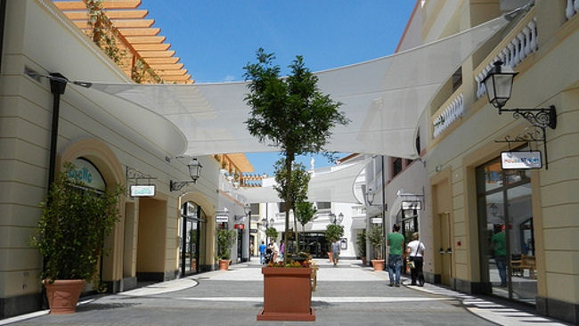 McArthurGlen Designer Village in Athens, Greece. No villagers, no houses, just 110 top brands to shop from!