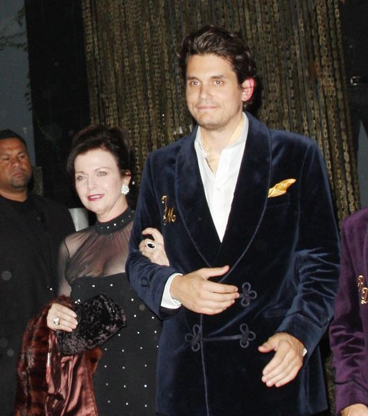 Photo of John Mayer & his  Mother  Margaret Hoffman