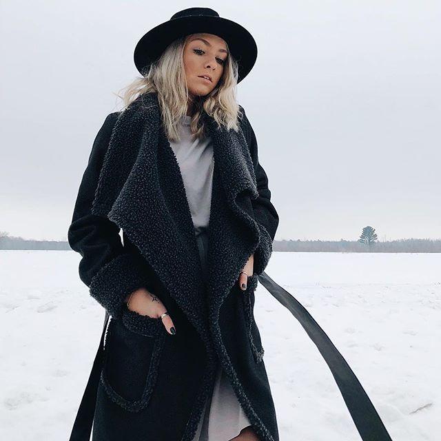 Shop your perfect winter coat 50% OFF online at joelledesaulniers.com