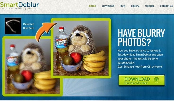 Smart Deblur : recuperare foto sfocate