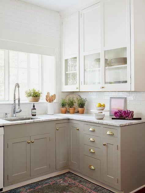Corner Cabinets - Kitchen Cabinet Ideas#kitchencabinets