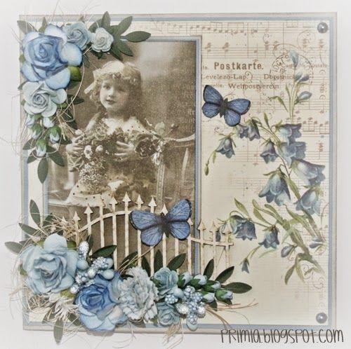 Primia: Sen kväll bjuder på kort med blommor...