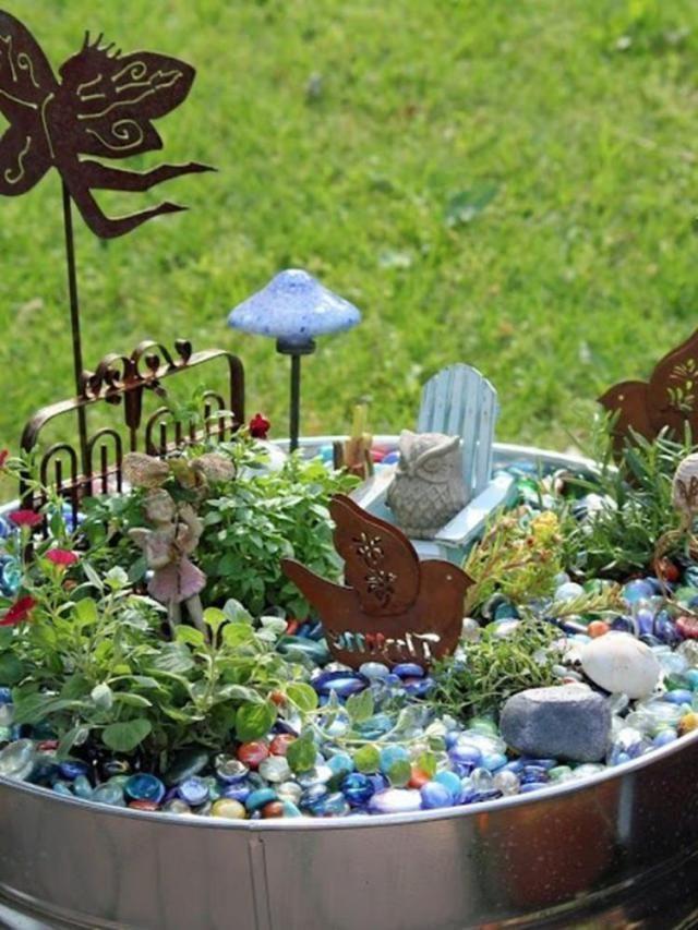 Diy Fairy Garden Accessories 22 Minijardines Fairy Garden
